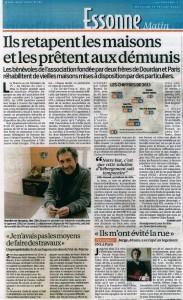 Article du Parisien, numéro du 19 février 2014
