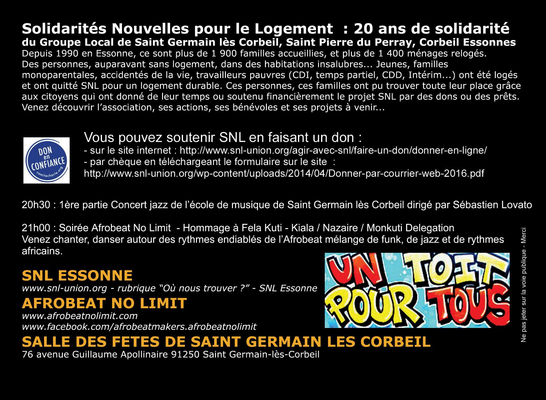 Les 20 ans du GLS de Saint-Germain-Lès-Corbeil