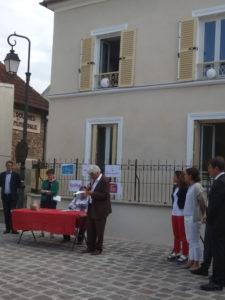 Inauguration Montgeron - juillet 2018